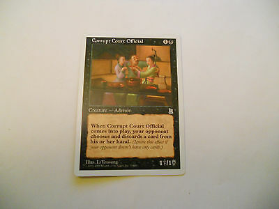 1x MTG Corrupt Court Official Magic EDH Portal Three Kingdoms P3K ING Inglese x1