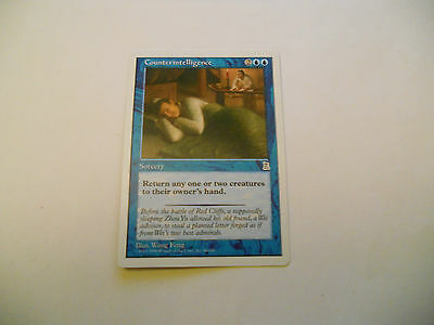 1x MTG Counterintelligence Magic EDH Portal Three Kingdoms P3K ING Inglese x1