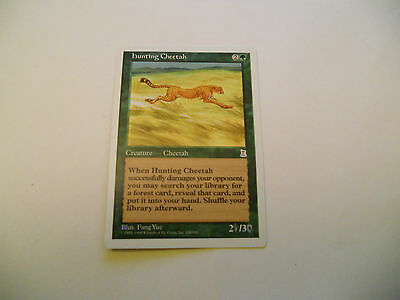 1x MTG Hunting Cheetah Magic EDH Porta Three Kingdoms P3K ING Inglese x1