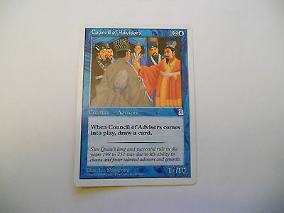 1x MTG Council of Advisors Magic EDH Porta Three Kingdoms P3K ING Inglese x1
