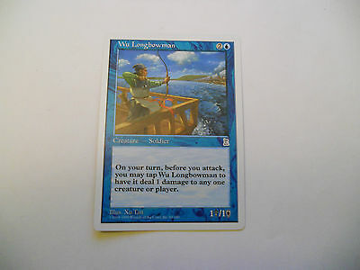 1x MTG Wu Longbowman Magic EDH Porta Three Kingdoms P3K ING Inglese x1