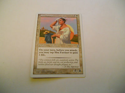 1x MTG Shu Farmer Magic EDH Portal Three Kingdoms P3K ING Inglese x1