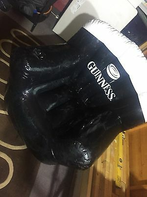 Large Guinness Inflatable Rugby Chair