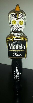 NEGRA MODELO Beer Tap Handle Day Of The Dead Keg Knob BRAND NEW! HOLIDAY CERVEZA