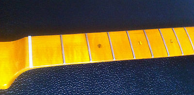 New Tele Type One Piece Maple Neck With Light Flame