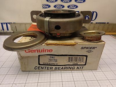 Dana Spicer Center Shaft Carrier Driveshaft Bearing 211175X Some Ford 3 U Joint