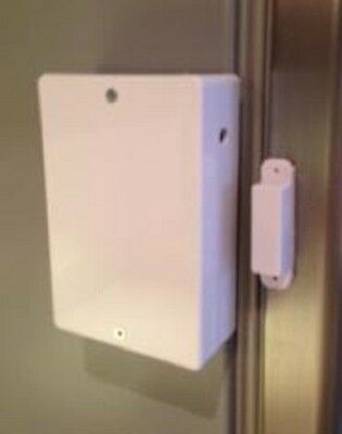 White Fridge Freezer Door Alarm With User Adjustable Time-Delay