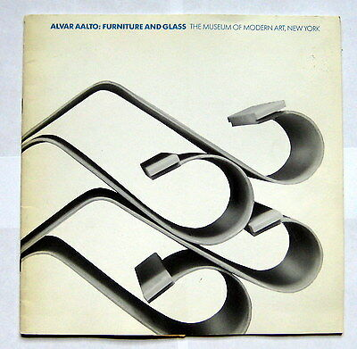Alvar Aalto: Furniture and Glass exhibition catalogue 1984 Museum of Modern Art