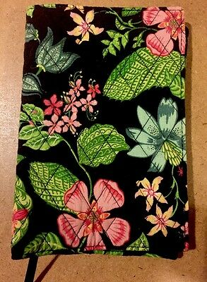Vera Bradley FABRIC PAPERBACK BOOK Or Bible Cover Previously Owned
