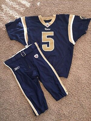 Donnie Jones Game Used Worn L.A. St. Louis Rams Jersey Pants NFL