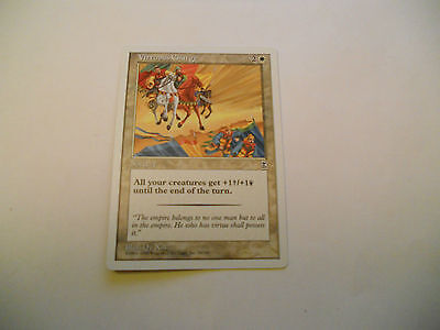 1x MTG Vituous Charge Magic EDH Portal Three Kingdoms P3K ING Inglese x1