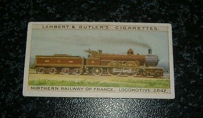 Lambert & Butler The Worlds Locomotives (Series of 25) Card No14