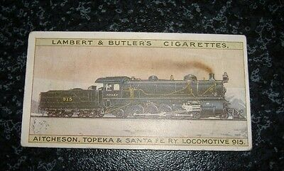 Lambert & Butler The Worlds Locomotives (Series of 25) Card No15