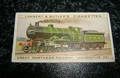 Lambert & Butler The Worlds Locomotives (Series of 25) Card No9