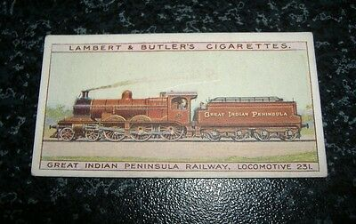Lambert & Butler The Worlds Locomotives (Series of 50) Card No45