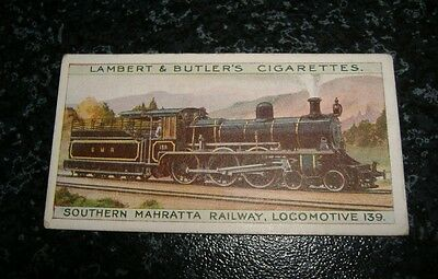 Lambert & Butler The Worlds Locomotives Additional Series No6A
