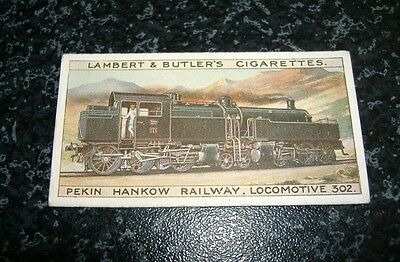 Lambert & Butler The Worlds Locomotives Additional Series No9A