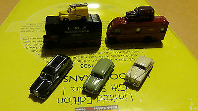 7 Number N Scale Vehicles As Per Photo