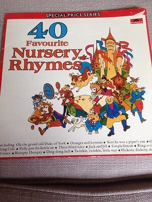 LP - 40 Favourite Nursery Rhymes, Special Price Series
