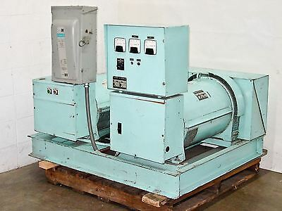 Sweinhart Electric Co 30 KW Motor Generator 480V 47 Amps 3ph to 230V SMG-30-6531