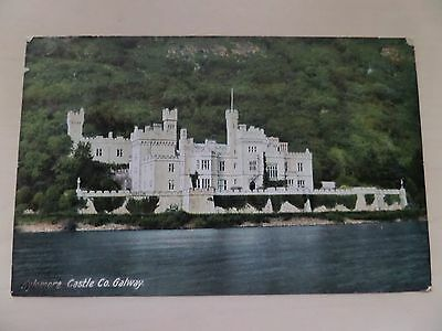 Postcard of Kylemore Castle county Galway Ireland posted 1906