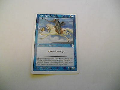 1x MTG Wu Light cavalry Magic EDH Portal Three Kingdoms P3K ING Inglese x1