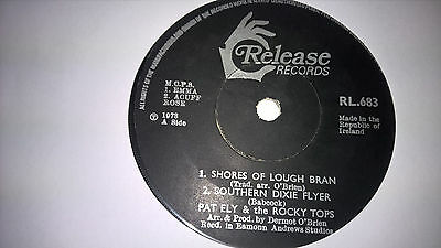 """PAT ELY & THE ROCKY TOPS - Shores Of Lough Bann - IRISH SHOWBAND COUNTRY 7"""" '73"""