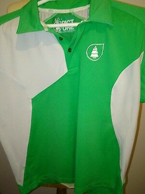 Polo homme PICTURE Vert et blanc taille M
