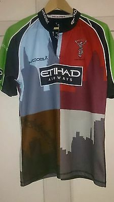 Harlequins rugby shirt size M
