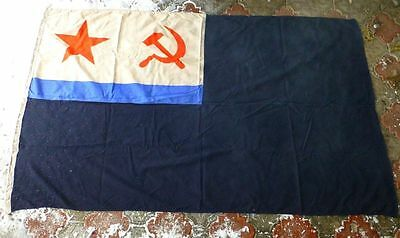 Very Big 190x115cm Military Russian USSR fleet submarine naval FLAG jack 1990