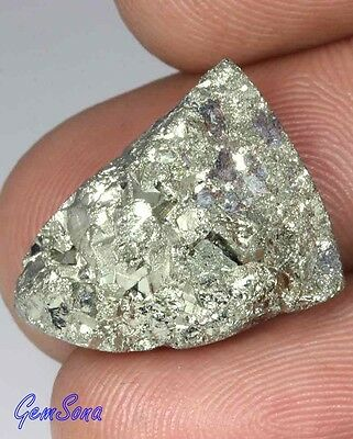 25.25Cts. NATURAL GOLDEN PYRITE CRYSTAL DRUZY GEODE FANCY CAB LOOSE GEMS 1718