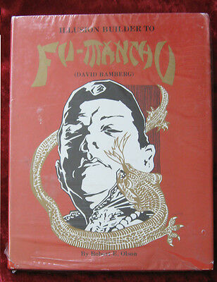 Illusion Builder to Fu-Manchu by R. E. Olson-1st Edition-Still in Shrink Wrap!