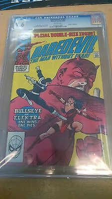 Daredevil #181 CGC 9.6 NM+ DEATH of ELEKTRA BULLSEYE WHITE PAGES MARVEL COMICS