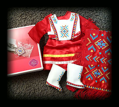 New in Box AMERICAN GIRL DOLL KAYA MODERN SHAWL OUTFIT limited edition 2015