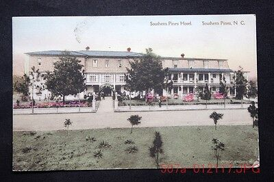 c.1949 Postcard Showing the Southern Pines Hotel, Southern Pines, N.C. - Posted
