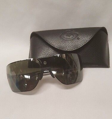 Gargoyles Sunglasses Classic Black Grey w/ Nylon Case