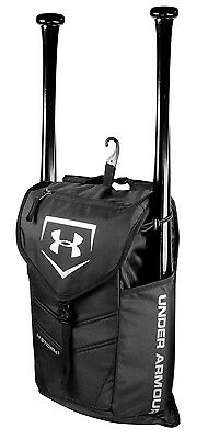 Under Armour UA Change Up Bat Pack Backpack, Black, Baseball/Softball NWT
