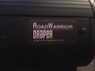 Draper Road Warrior Pull Up Projection Screen