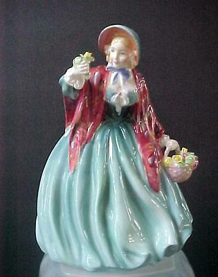 "Royal Doulton Figurine Lady Charmian  HN 1948  8"" tall   (Mint Condition)"