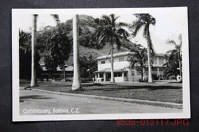 c.1910 RPPC Postcard Showing the Commissary, Balboa, Canal Zone, Panama Unposted