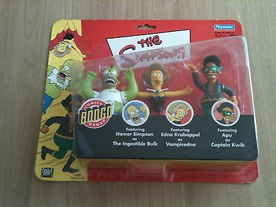 simpsons playsets and figures world of springfield Rare Exclusive