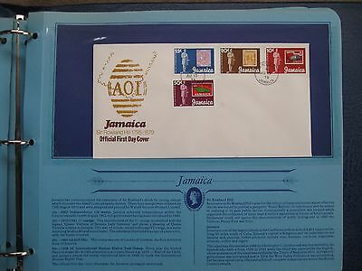 1979 JAMAICA FIRST DAY COVER, SIR ROWLAND HILL,ONLY £0.99p