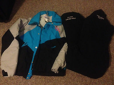 Polaris USA *Gore-Tex* Thinsulate snowmobile bibs/pants Jacket Womens L ~ Black