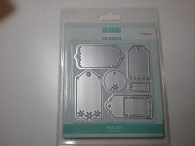 New Die Cutters - 6 Tags