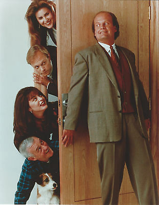 Frasier Cast 8 X 10 Photo With Ultra Pro Toploader
