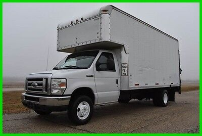 2008 Ford E-450 16ft Box Truck w/ Lift - LOW RESERVE!