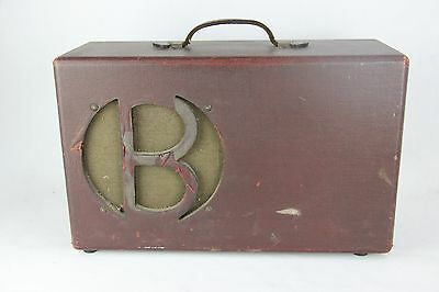 Vintage 1930's Unknown Tube Amplifier Amp Project Lap Steel Electric Guitar