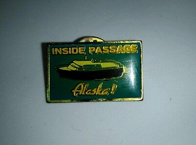 Vintage Alaska Inside passage cruise ship Hat - Lapel Pin