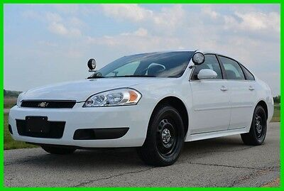 2012 Chevrolet Impala Police 2012 Chevy Impala Police Car (79k miles) LIQUIDATION SALE - NO RESERVE!