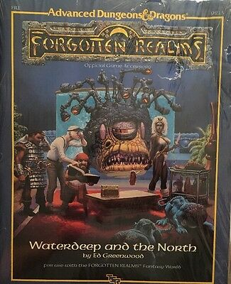 TSR Forgotten Realms Waterdeep and the North By Ed Greenwood Dungeons Dragons